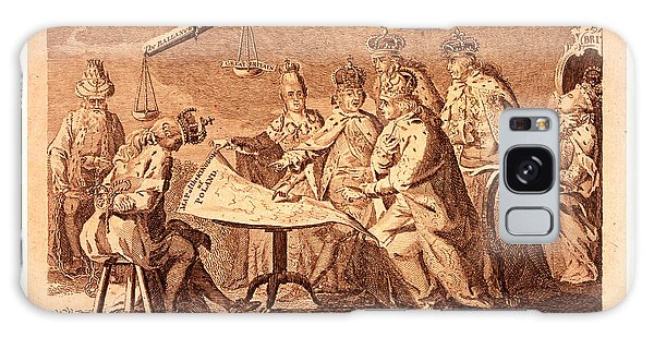 Influence Galaxy Case - Picture Of Europe For July 1772, Catherine II, Leopold II by Litz Collection