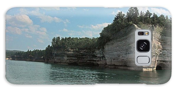 Pictured Rocks Battleship Formation Galaxy Case by Bill Woodstock