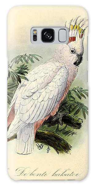 Pied Cockatoo Galaxy Case by Dreyer Wildlife Print Collections
