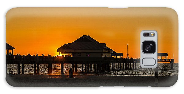 Pier 60 Sunset Galaxy Case by Jane Luxton