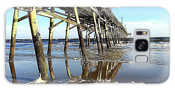 Pier Reflections Galaxy Case