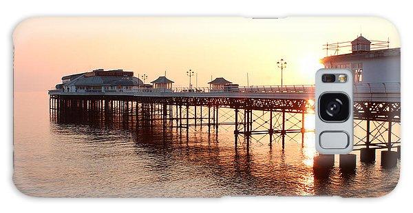 Pier Sunrise  Galaxy Case