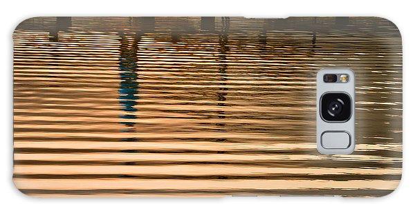 Pier Walk Galaxy Case by Joan Herwig