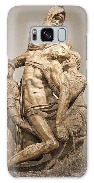 Pieta By Michelangelo Galaxy Case