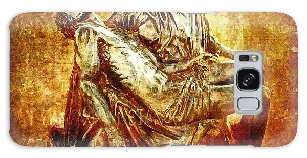 Pieta Via Dolorosa 13 Galaxy Case