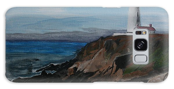 Pigeon Lighthouse Daytime Titrad Galaxy Case by Ian Donley