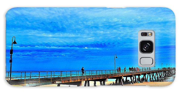 Pigeon Pier - Glenelg Beach - Australia Galaxy Case
