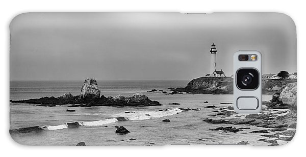 Pigeon Point - Black And White Galaxy Case