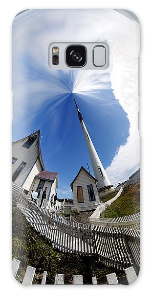 Pigeon Point Lighthouse Polar View Galaxy Case