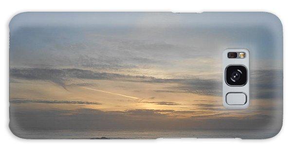 Pigeon Point Sunset Galaxy Case