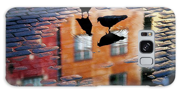 Pigeon Galaxy Case - Pigeons by Allan Wallberg