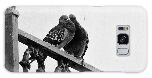 Pigeons Galaxy Case by Meagan  Visser