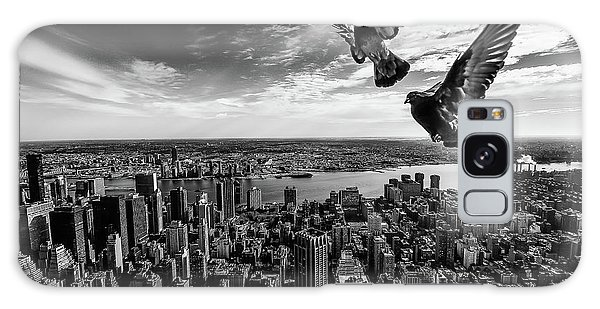 Pigeons On The Empire State Building Galaxy Case