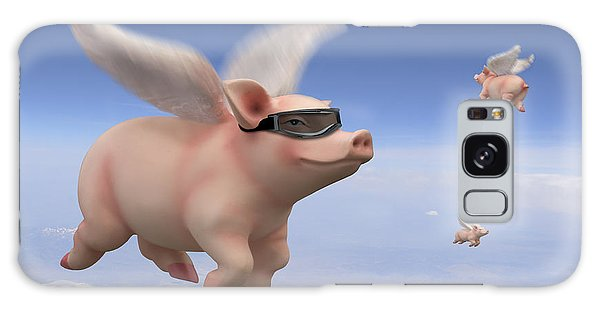 Pigs Fly Galaxy Case