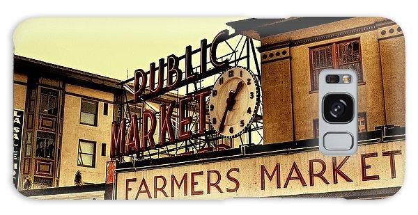 Pike Place Market - Seattle Washington Galaxy Case