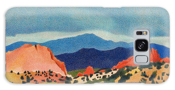 Garden Of The Gods Pikes Peak Galaxy Case