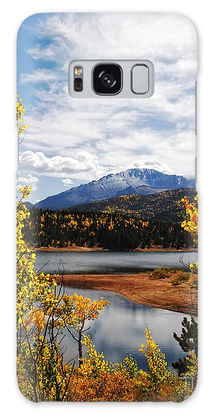 Pikes Peak In Autumn Galaxy Case
