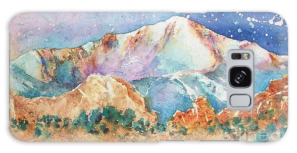 Pikes Peak Over The Garden Of The Gods Galaxy Case