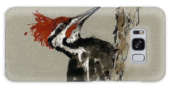 Great Lakes Galaxy Case - Pileated Woodpecker by Juan  Bosco