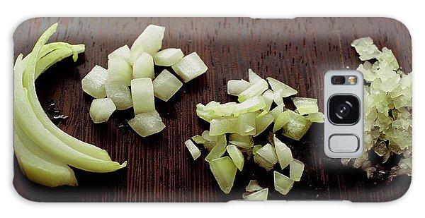 Piles Of Raw Onion Galaxy Case
