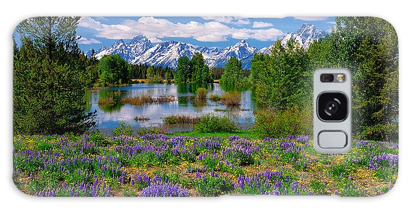 Pilgrim Creek Wildflowers Galaxy Case
