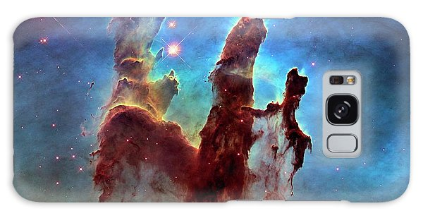 The Eagles Galaxy Case - Pillars Of Creation In Eagle Nebula by Nasa, Esa, And The Hubble Heritage Team (stsci/aura)/science Photo Library