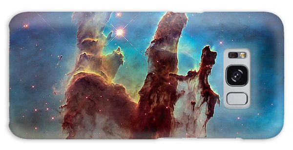 Science Fiction Galaxy Case - Pillars Of Creation In High Definition - Eagle Nebula by Jennifer Rondinelli Reilly - Fine Art Photography