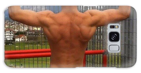 Motivational Galaxy Case - #pillsome #spartan #hot #workout #beast by Denis Qyra