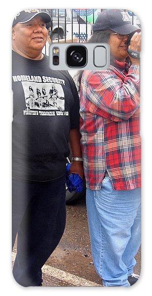 Pima Indians Watching Parade Sacaton Arizona 2005 Galaxy Case
