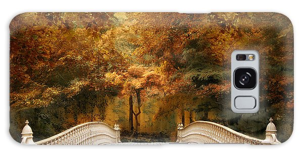 Galaxy Case featuring the photograph Pine Bank Autumn by Jessica Jenney