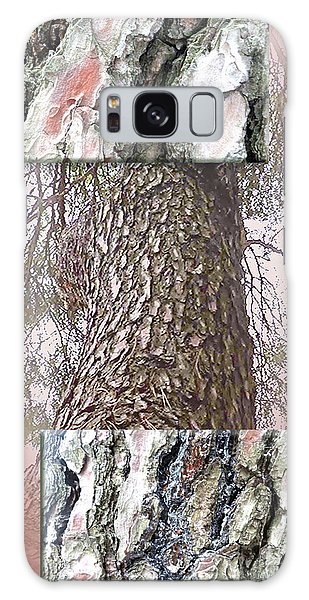 Pine Bark Study 1 - Photograph By Giada Rossi Galaxy Case