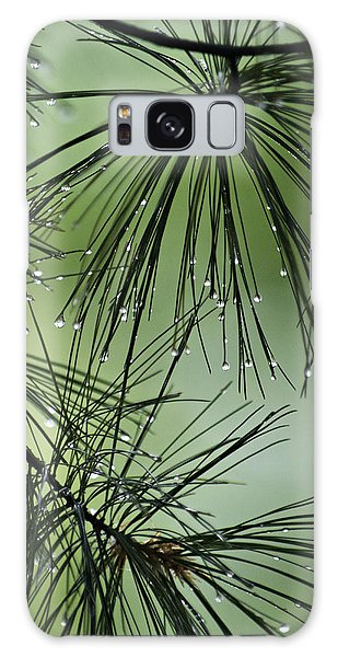 Pine Droplets Galaxy Case
