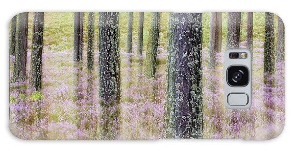 Cairngorms National Park Galaxy Case - Pine Forest And Heather Cairngorms Np by Sebastian Kennerknecht