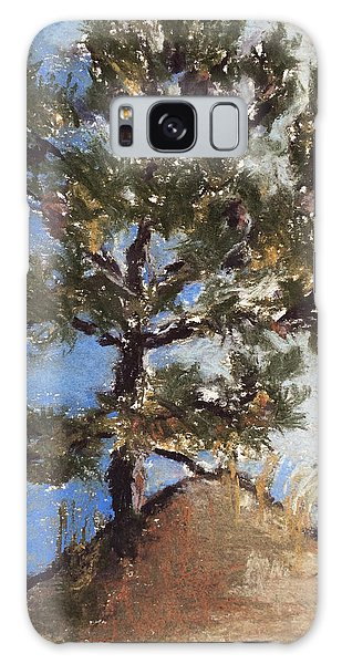 Pine Tree Galaxy Case