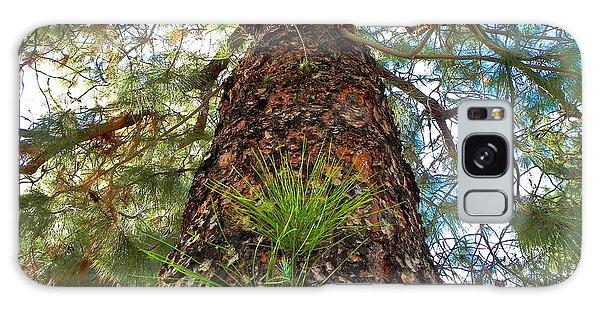 Pine Tree Tower Galaxy Case