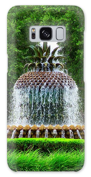Pineapple Fountain 1 Galaxy Case