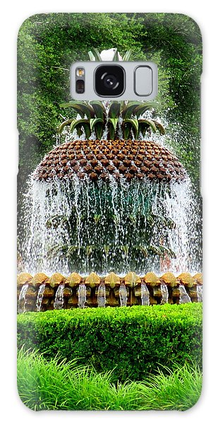 Pineapple Fountain 2 Galaxy Case