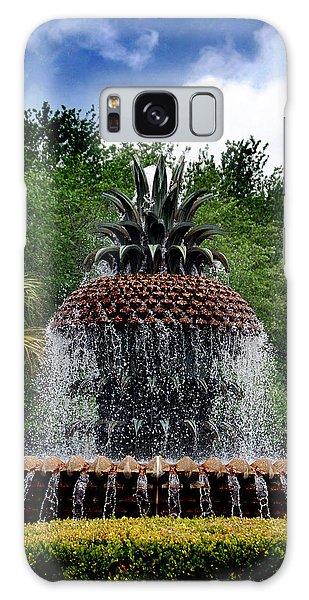 Pineapple Fountain Galaxy Case