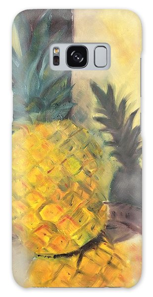 Pineapple On A Silver Tray Galaxy Case