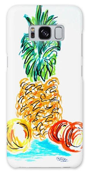 Pineapple Study No. 1 Galaxy Case