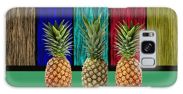 Pineapples Galaxy Case by Marvin Blaine