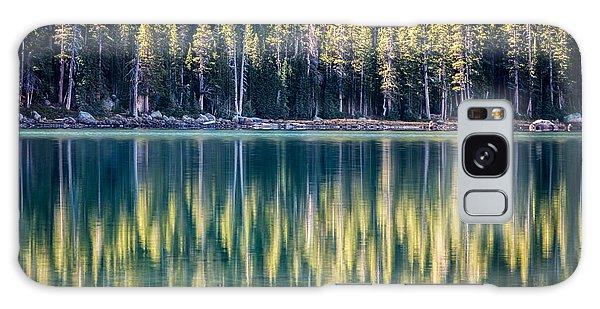 Pines Reflected In Tenaya Lake Galaxy Case