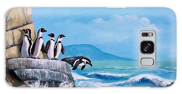 Pinguinos De Humboldt Galaxy Case