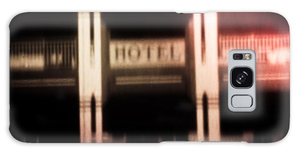 Pinholed Hotel  Galaxy Case