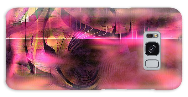 Pink Abstract Nature Galaxy Case by Yul Olaivar
