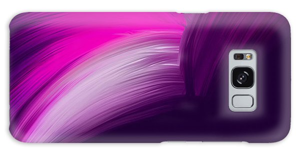 Pink And Purple Curves Galaxy Case