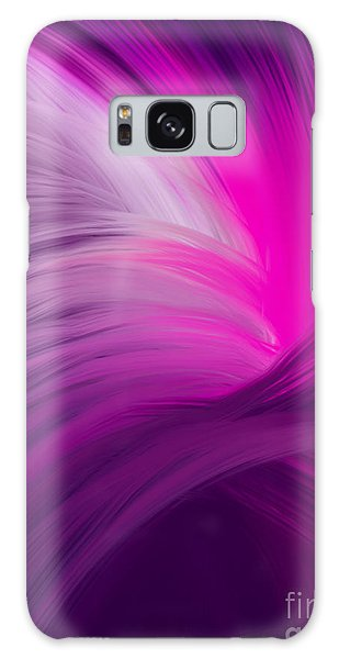 Pink And Purple Swirls Galaxy Case