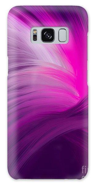 Pink And Purple Swirls Galaxy Case