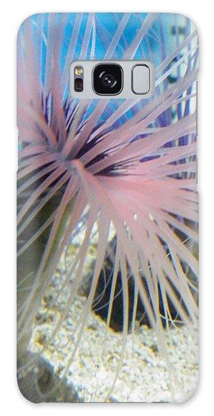 Pink Anemone Galaxy Case