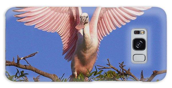 Pink Angel Wings Galaxy Case by Myrna Bradshaw
